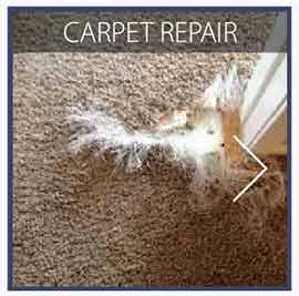 our carpet repair services
