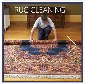 our rug cleaning services